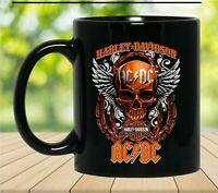 Harley-Davidson Motor Skull Coffee Mug