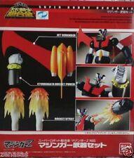 New Bandai SUPER ROBOT Chogokin Mazinger Z Mazinger Weapon Set Painted