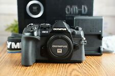 Olympus OM-D E-M1 Mark II 20.4 MP Digital Camera w/Strap, Charger and Box