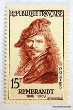 FRANCE REMBRANDT 1957 TIMBRE N° 1135  NEUF ** LUXE GOMME D'ORIGINE  B4
