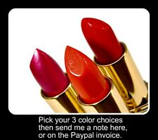 LPage Lipsticks Buy 3@$25.00 W/FREE S&H  Choose Colors Fast Shipping