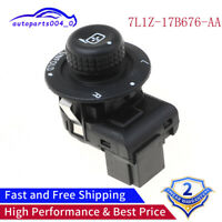 7L1Z-17B676-AA Fit For Ford F150 F250 Power Fold Side View Mirror Switch Control