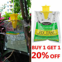 Fly Catcher Disposable Trap Insect Trap Hanging Style Pest Control Catcher Use