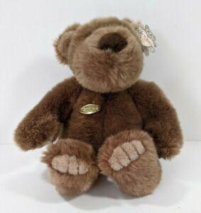 """Gund Collector's Classic NWT Bear Bigbee Brown Plush 11"""" 1989 Stuffed Animal"""