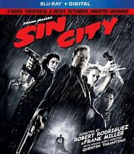 Sin City New Sealed Blu-ray Theatrical + Extended Unrated Cuts