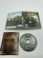 Sony PlayStation 3 PS3 CIB Complete Tested FALLOUT 3 GAME OF THE YEAR EDITION