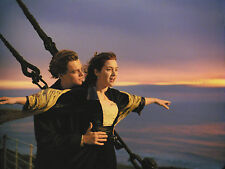 LEONARDO DICAPRIO AND KATE WINSLET 8X10 GLOSSY PHOTO PICTURE