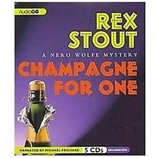Champagne for One  (A Nero Wolfe Mystery) (Nero Wolfe Mysteries)  - Audiobook