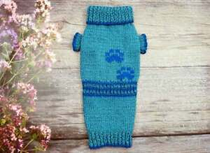 Dog clothes Dog sweater Knitted sweater for small dog