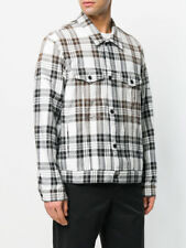 OFF-WHITE VIRGIL ABLOH white check jacket  Authentic NWT L