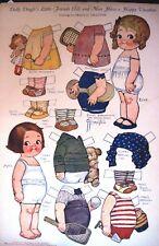 "1927 ""Dolly Dingle"" Paper Doll by G.G. Drayton-Friends Elsie & Max on Vacation*"