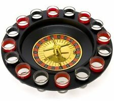 Shot Glass Roulette - Drinking Game Set (2 Balls, 16 Glasses) Liquor Party Games