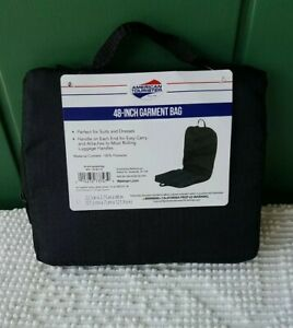 """Garment Bag American Tourister 48"""" travel Suits Dresses Storage Business Office"""