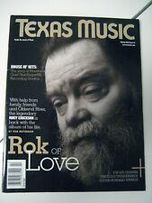 Rare Roky Erickson Texas Music Spring 2010 Magazine 13Th Floor Elevators Psych