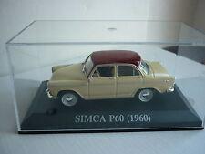 SIMCA P60 1/43 de 1960