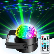 USB RGB Strobe Lamp DJ Rotating Ball Led Stage Laser Lights KTV Disco Club Party