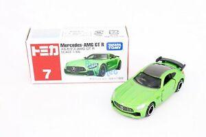 Takara Tomy TOMICA No.007 Mercedes Benz AMG GT-R (GREEN) Diecast Toy Car Japan