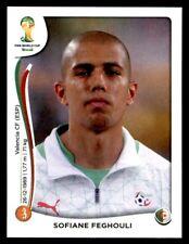 Panini World Cup 2014 - Sofiane Feghouli Algérie No. 597