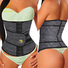 Women Body Shaper Elastic Waist Trainer Cincher Rubbe Underbust Corset Shapewear