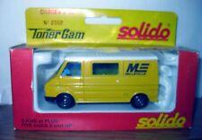 Solido Toner Gam No. 2002 Citroen C 35  MILLEVILLE logo 1/50 IN BOX