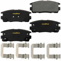 Goodyear Brakes GYD1275 Truck and SUV Carbon Ceramic Rear Disc Brake Pads Set