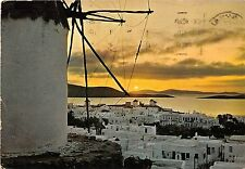 BR25896 Coucher du soleil a Mykonos