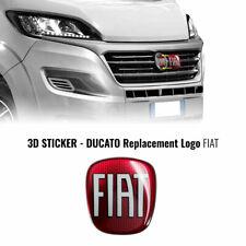 Adesivo Fiat Professional 3D Ricambio Logo per Ducato