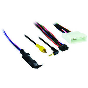 Axxess Ax-Nis32Swc-6V Harness With 6-Volt Converter For Nissan (With 4.3-Inch Di
