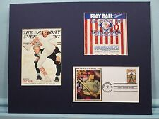 1839 - 1939 - The 100th Anniversary of Baseball & First Day Cover
