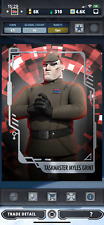 Star Wars Card Trader Imperial Forces Might of Empire Taskmaster Myles Grint