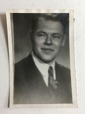 Vintage Real Photograph - #V - Man In Suit
