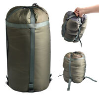 Waterproof Compression Sack Sleeping Bag Cover Travel Camping Hiking Pack US