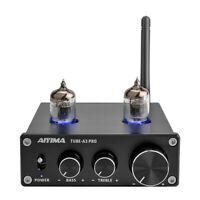 6J1 Tube Preamplifier Bluetooth 5.0 Preamp Volume Control Audio Sound Amp
