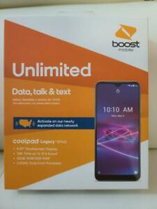 Coolpad Legacy Brisa Boost Mobile-32 GB-Smartphone Boost Mobile - Free 1 Month &