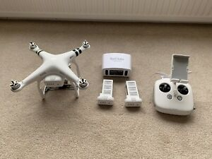 DJI Phantom 3 Professional Quadcopter with 3 Batteries and Rucksack