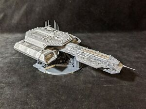 Stargate Atlantis SGA - 230mm Daedalus replica. 3D printed and painted model