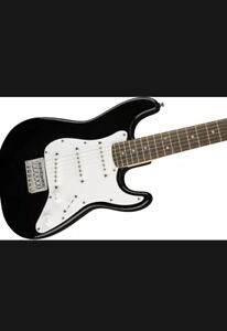 Fender Squier Mini Strat Electric Guitar - Black