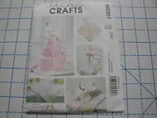 McCall's Craft Pattern #M6301-Toy, Diaper Cake, Burp Cloth,Blanket, Hooded Towel