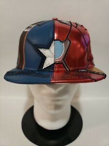 🔥VERY RARE! NEW Era Marvel AVENGERS Captain America Civil War FITTED 7 1/2 NEW!