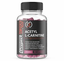 Acetyl L-Carnitine 750mg 80 Capsules | Project DNA Supplements