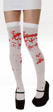 Hold up Bloody Stockings White With Blood Stains Halloween Fancy Dress Bloodied