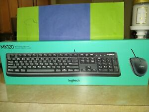 Logitech MK120 (920-002565) Wired Keyboard and Mouse Combo