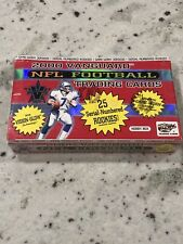 2000 Vanguard Football Sealed Box 24 Packs Rookies Tom Brady SP?! Goat 🐐Rare