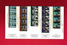 1996 TIMBRES CANADA STAMPS  MINI SHEET( Mn)  # 1616 a to e ** CINEMA  L950