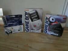 Nintendo Gameboy Red Camera, Printer, Spare Paper Boxed As Seen 1998 Receipt
