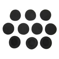 5 pairs of Black Replacement Ear Pads for PX100 Koss Porta Pro Headphones J6X8