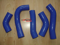 BLUE New Silicone Intercooler Turbo Hose For TOYOTA SUPRA MK3 MA70