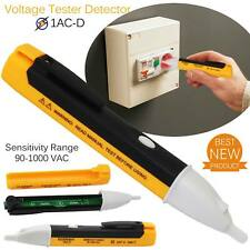 LED AC Electric Voltage Tester Power Detector Sensor Non-Contact Pen 90-1000V US