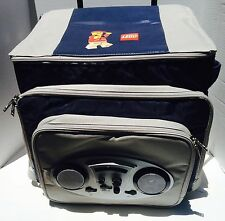 Lego Employee Rare Exclusive Swag Rolling Cooler AM FM Radio
