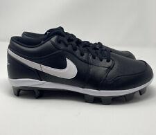Nike Air Jordan 1 Retro MCS Low Men's Size 12 Black Baseball Cleats CJ8524-001